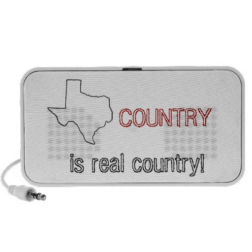 Texas Country iPod Speakers