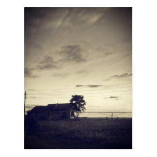 Texas Countryside Twilight Post Cards