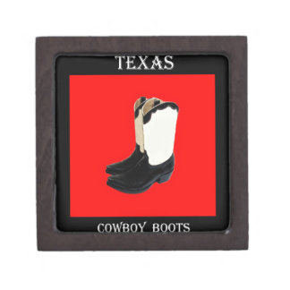 Texas Cowboy Boots 2 .jpg Jewelry Box