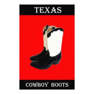 Texas Cowboy Boots 2 .jpg Stationery
