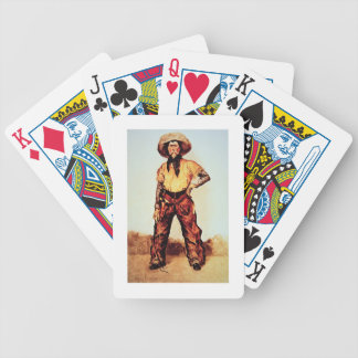 Texas Cowboy, c.1890 (oil on canvas) Bicycle Playing Cards