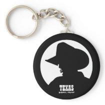 Texas Cowboy Keychain