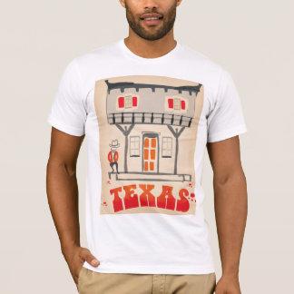 Texas Cowboy Vintage Style travel poster T-Shirt