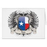 Texas Crest Greeting Card