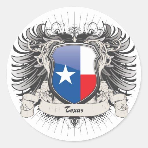 Texas Crest Sticker