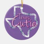 Texas Cutie Christmas Tree Ornament