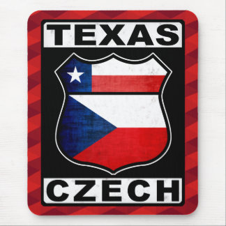 Texas Czech American Mousemat Mouse Pad