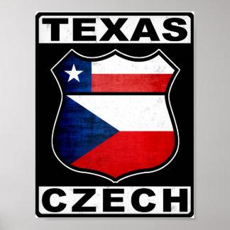 Texas Czech American Poster