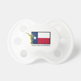 TEXAS DALLAS MISSION LDS CTR BABY PACIFIER