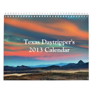 Texas Daytripper's 2013 Calendar