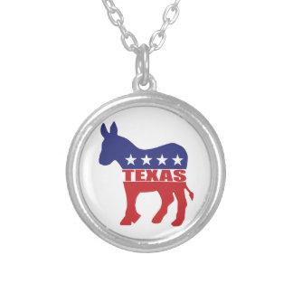Texas Democrat Donkey Pendants