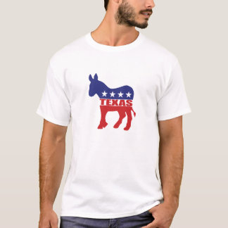Texas Democrat Donkey T-Shirt