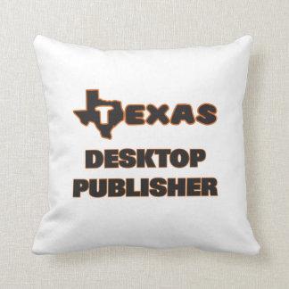 Texas Desktop Publisher Pillow