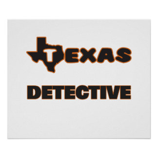 Texas Detective Poster