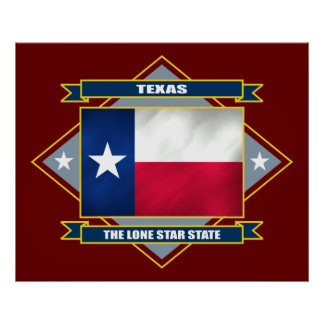 Texas Diamond Poster