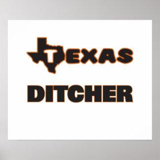 Texas Ditcher Poster