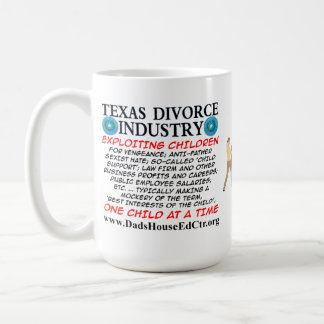 Texas Divorce Industry. Mug