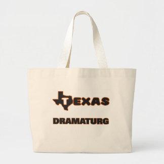 Texas Dramaturg Jumbo Tote Bag