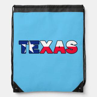 Texas Drawstring Backpack