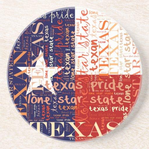 Texas Drink Coaster