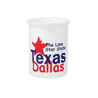 TEXAS DRINK PITCHERS