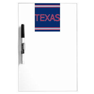 Texas Dry Erase Board