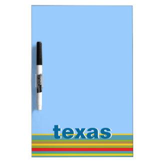 Texas Dry Erase Board