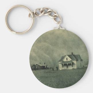 Texas Dust Storm Keychain