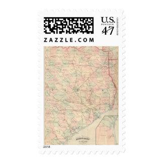 Texas, Eastern Portion Postage