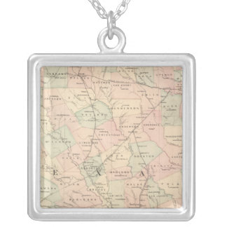 Texas, Eastern Portion Silver Plated Necklace
