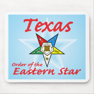 Texas Eastern Star Mouse Pad