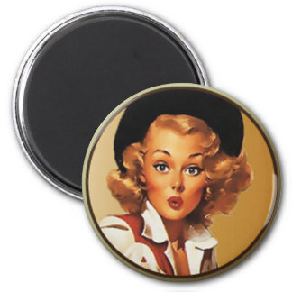 Texas Eclectic : 2 Inch Round Magnet
