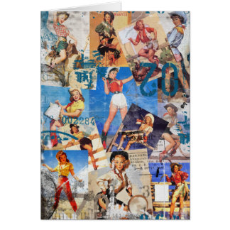 Texas Eclectic : Cowgirl Collection No. 1 Card