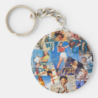 Texas Eclectic : Cowgirl Collection No. 1 Keychain