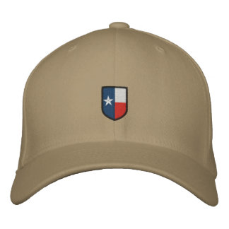 Texas Embroidered Coat of Arms Hat