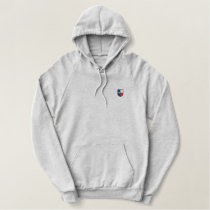 Texas Embroidered Pullover Fleece Hoodie