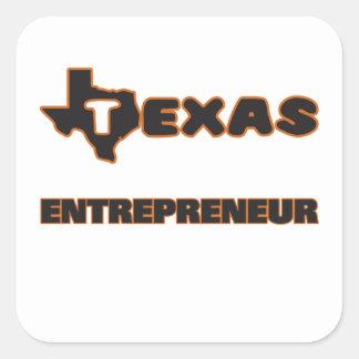 Texas Entrepreneur Square Sticker