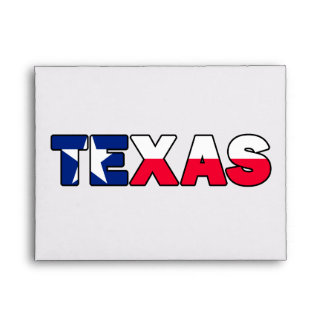 Texas Envelope