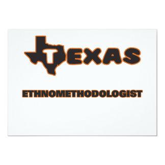 Texas Ethnomethodologist 5x7 Paper Invitation Card