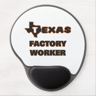 Texas Factory Worker Gel Mouse Pad