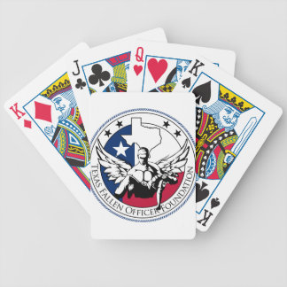 Texas Fallen Officer Foundation Bicycle Playing Cards