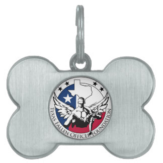 Texas Fallen Officer Foundation Pet ID Tag