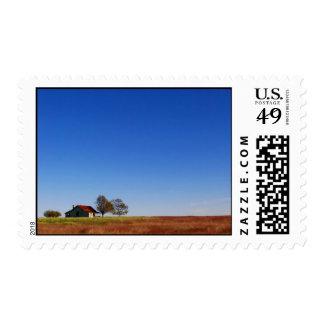 Texas Farm House Stamp