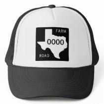 Texas Farm Road Trucker Hat