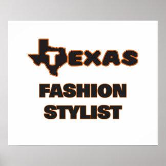 Texas Fashion Stylist Poster