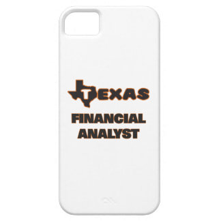 Texas Financial Analyst iPhone 5 Covers