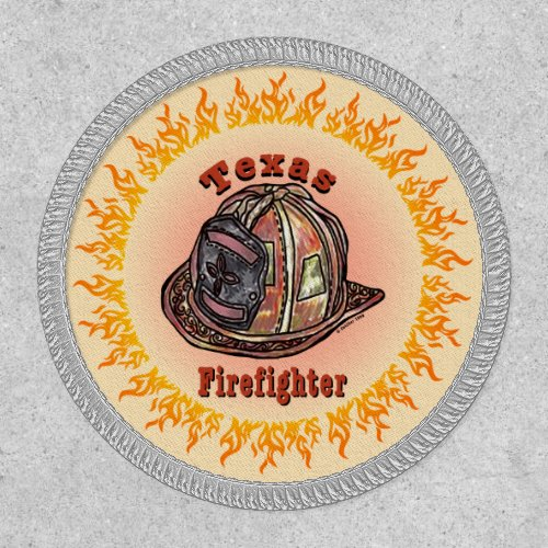 Texas Firefighter Patch