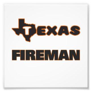 Texas Fireman Photo Print