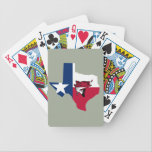 "Texas Fishing Bicycle Playing Cards<br><div class=""desc"">Show them your love of fishing in the Lone Star State!</div>"