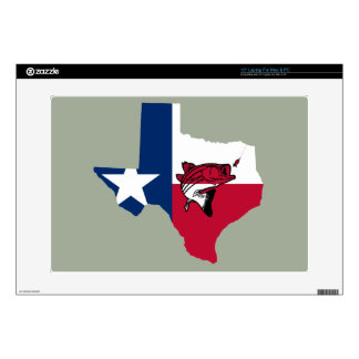 Texas Fishing Laptop Decals